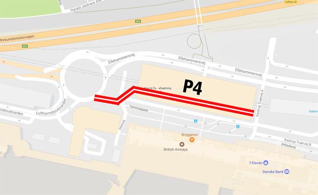 Afsaetning Af Passagerer Kastrup Lufthavn Cph Airport