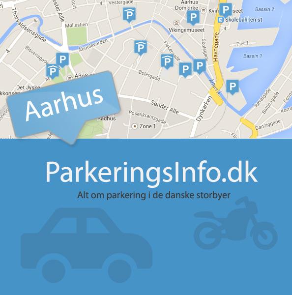 parkering i århus centrum