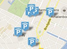 parkeringszoner københavn kort