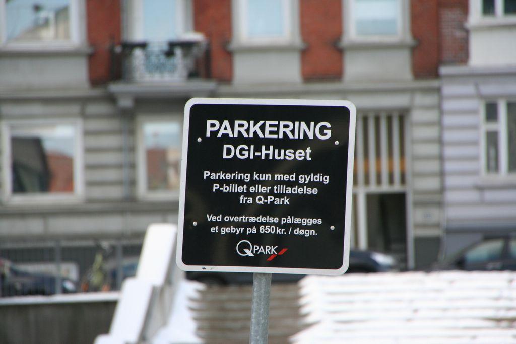 parkering industriens hus